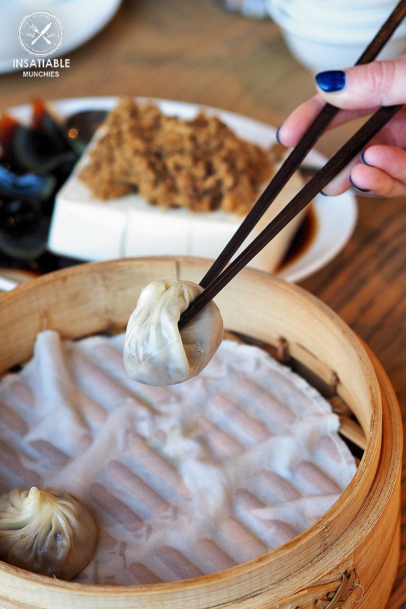 Sydney Food Blog Review of Din Tai Fung, Central Park: Black truffle pork dumpling