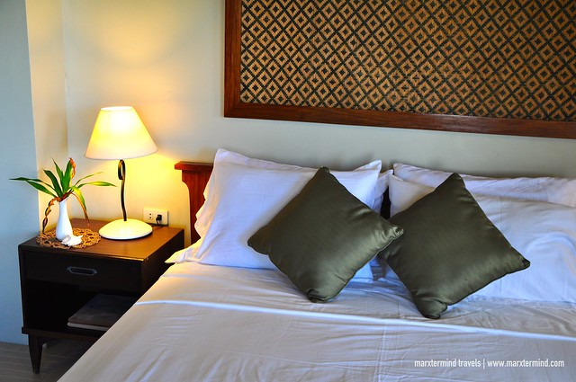 Bed at La Estancia Busuanga