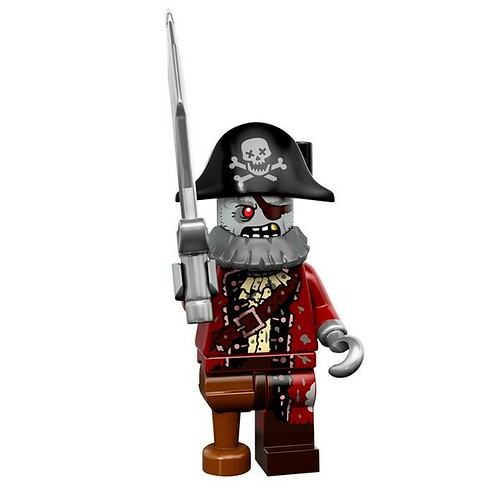 LEGO 71010 Collectible Minifigures Series 14 02 - Zombie Pirate