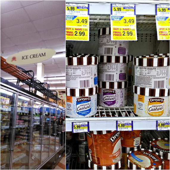 Nestle DREYER'S Frozen Custard at Albertsons