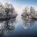 A misty winter morning at river Loisach [Explored 2017/01/14] by Tarcitaxx [DE] [FR] [EN] [ES]