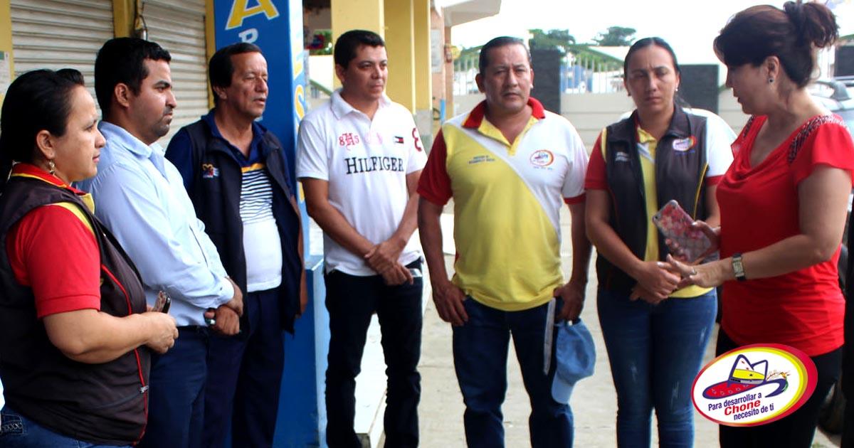 GAD Municipal socializa limpieza en avenida Amazonas