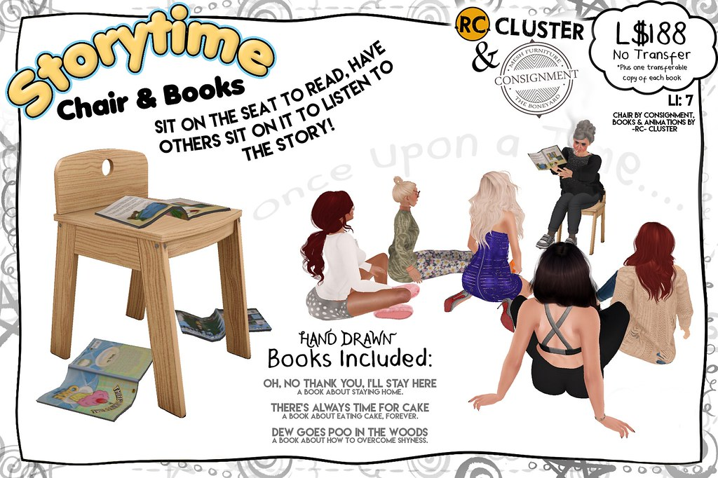 -RC- & Consignment Storytime Chair - SecondLifeHub.com