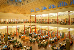 State Library, Melbourne AU