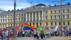 Pride Parade in Helsinki