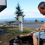 Sun, 06/29/2014 - 17:52 - Camping BBQ salmon. Watch video of this road trip here bit.ly/rvwt-wa-coast.