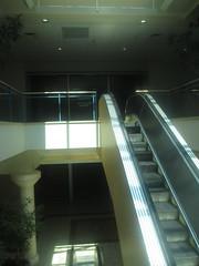 Empty Esclator