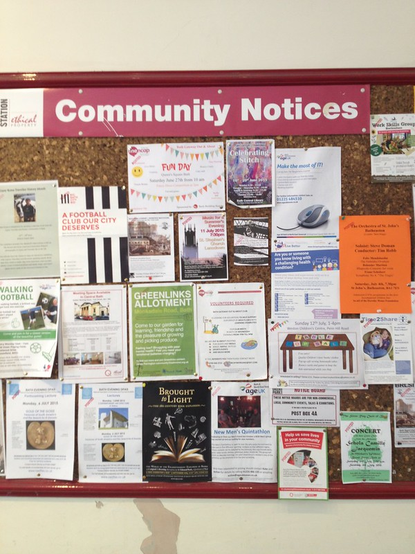Community notice board