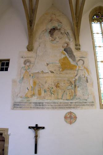 St. Leo, Bibra, Fresko, Jüngstes Gericht