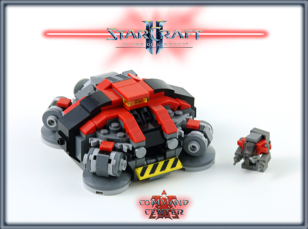 Starcraft A Microscale Collaboration Building Lego Brickpicker