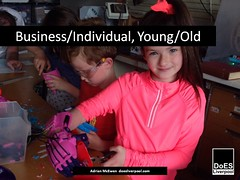 Business/Individual, Young/Old