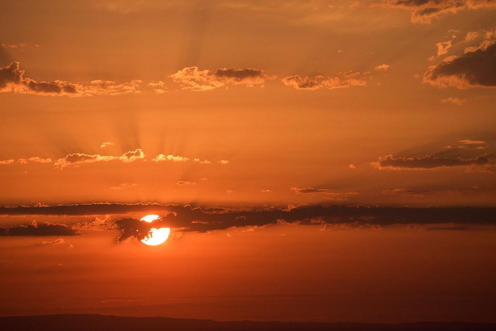 Sunset, Devils Dyke