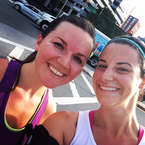 Friday morning run buds! @meganerdruns
