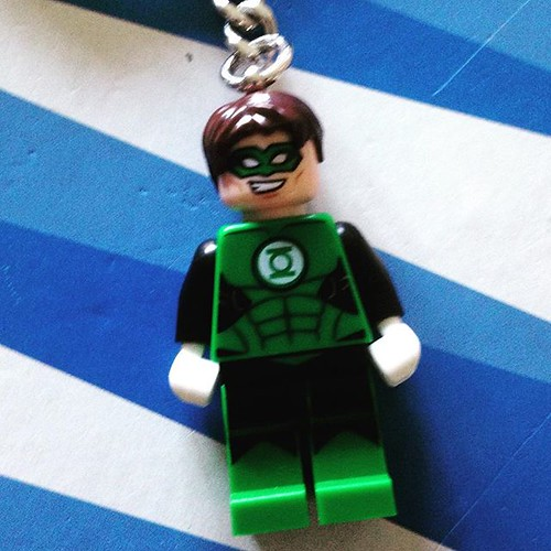 New key chain dangle #Lego #greenlantern