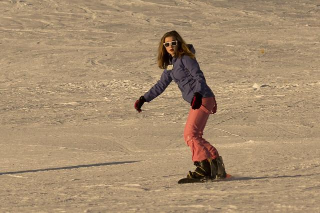 Cousins at Round Hill Ski-field 43