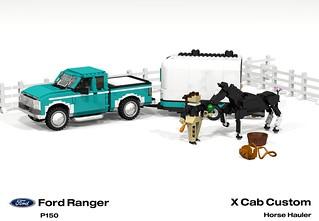 Ford Ranger X Cab Pickup (1996 - FNA Horse Hauler)