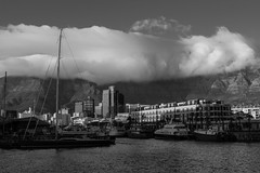Clouds Spilling Over Table Mountain