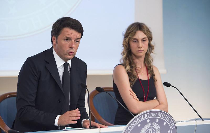 Renzi e Madia