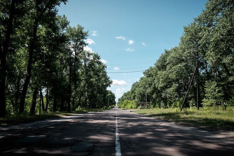The road to Chernobyl