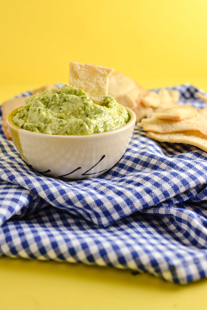 Mint Garlic Scape Dip | Things I Made Today
