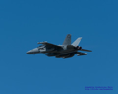 A GROWLING DOUBLE AFTERBURNER INTO THE BLUE