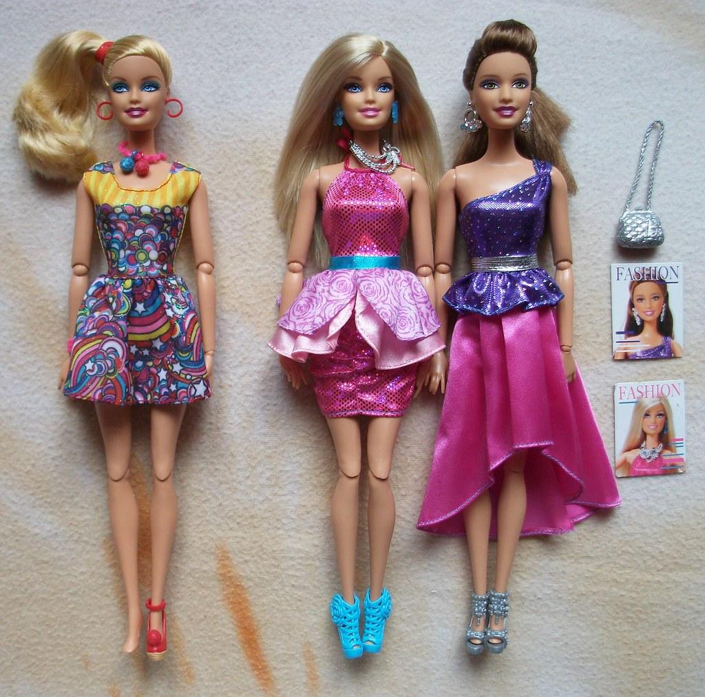 Barbie fashionistas swappin styles doll sassy 51