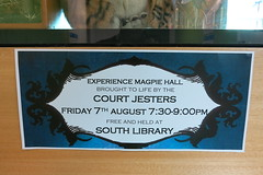 Magpie Hall Community Read display