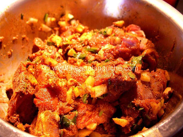Agneau au Curry & Haricots Rouges © Ana Luthi Tous droits réservés 002