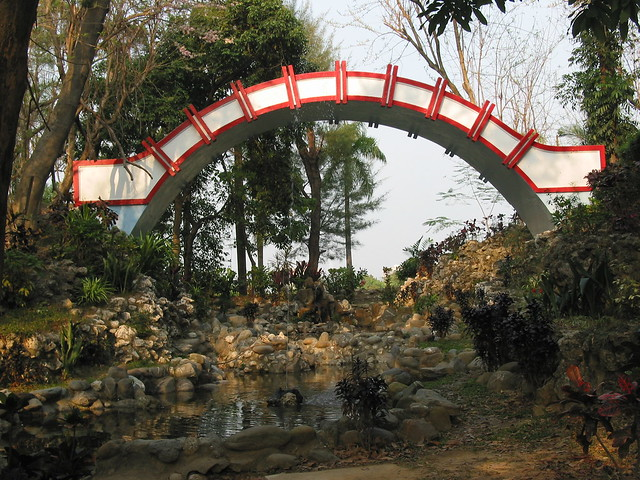 Footbridge at Chengching Lake