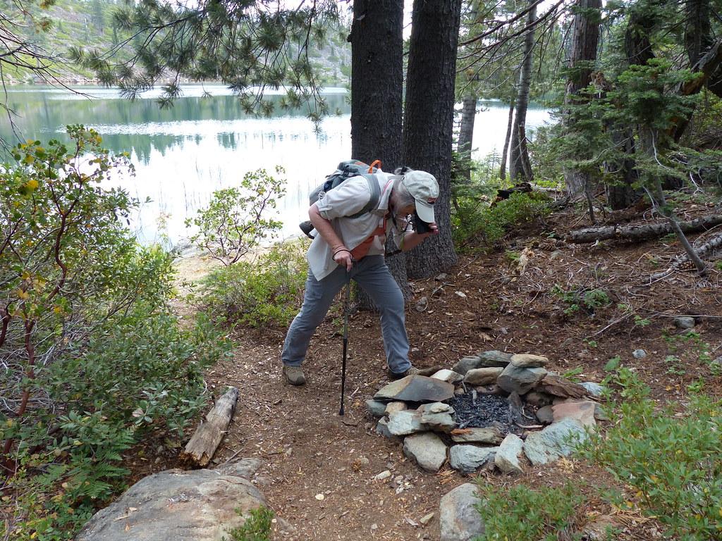 smith lake campfire