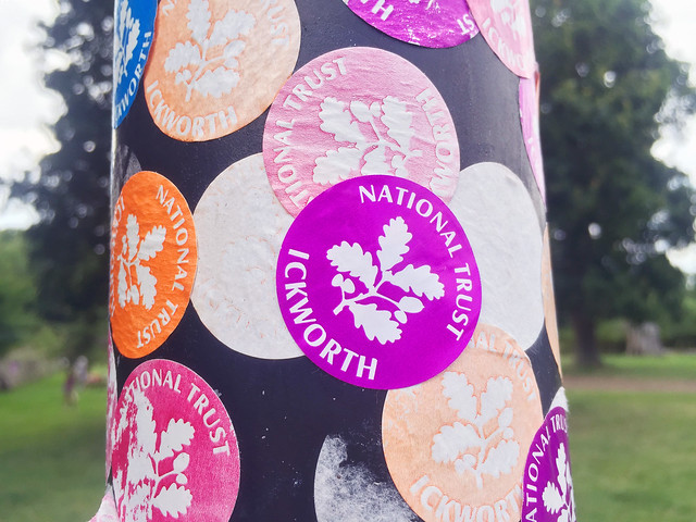 Ickworth sticker