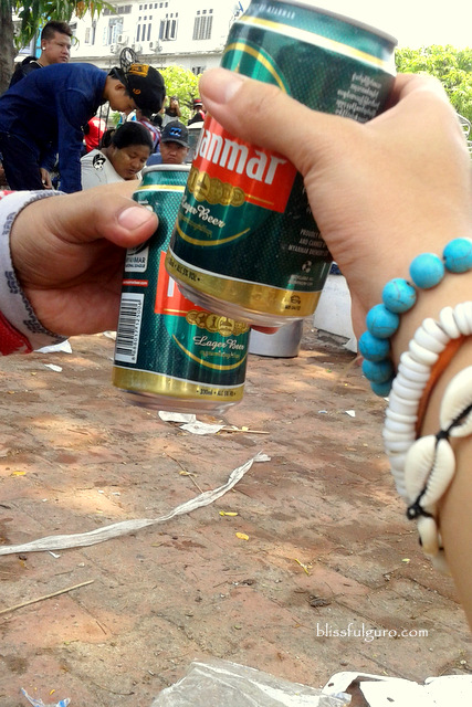Thingyan Water Festival Myanmar Beer