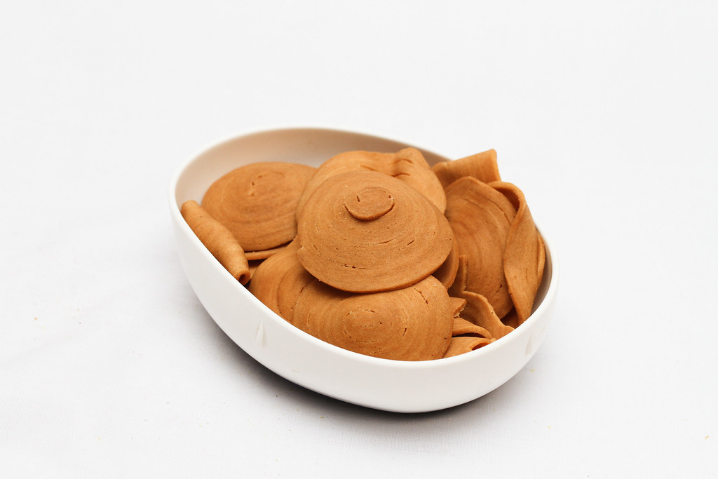 50 Childhood Snacks Singaporeans Love: Pig ear biscuit / Butterfly Biscuits