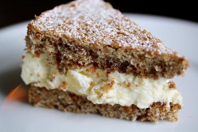 Amalfi Pear & Ricotta Cake - 36