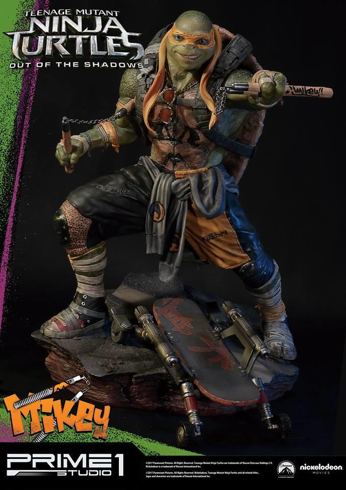 Prime 1 Studio 忍者龜:破影而出【米開朗基羅】TMNT: Out of the Shadows Michelangelo 1/4 比例全身雕像