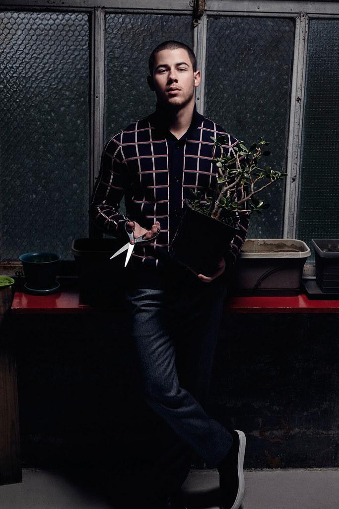 Ник Джонас — Фотосессия для «Essential Homme» 2016 – 9