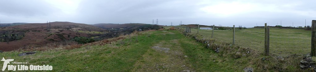 P1060824 - Route of the proposed Mynydd y Gwair wind farm access track