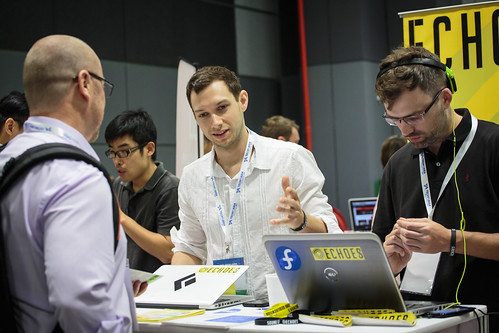 Echoes at Tech in Asia Singapore 2015