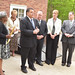 William Sherlach, husband of Mary, joined Connecticut legislators including, Rep. Dave Rutigliano, Rep. Ben McGorty, Rep. Laura Devlin, Rep. Mitch Bolinsky, and Sen. Marilyn Moore, and Trumbull officials, including First Selectman, Tim Herbst, May 15, for the Mary Sherlach Counseling Center's formal rededication