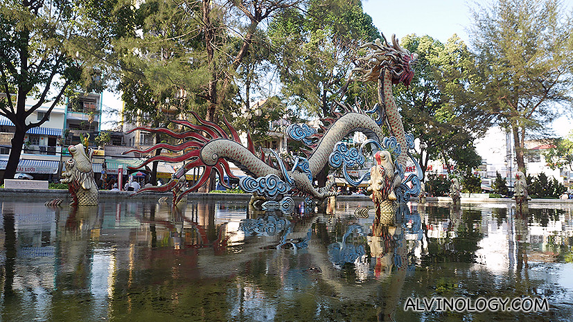 What is Chinatown without a water dragon?