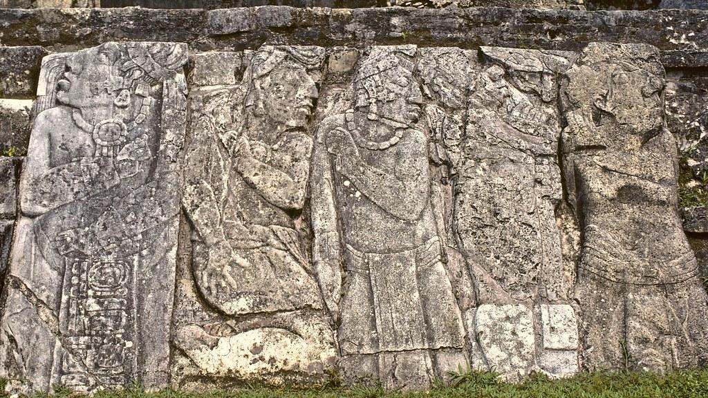 Palenque carvings