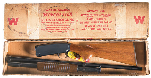 1959 Winchester Model 12 Shotgun in its Factory Box
