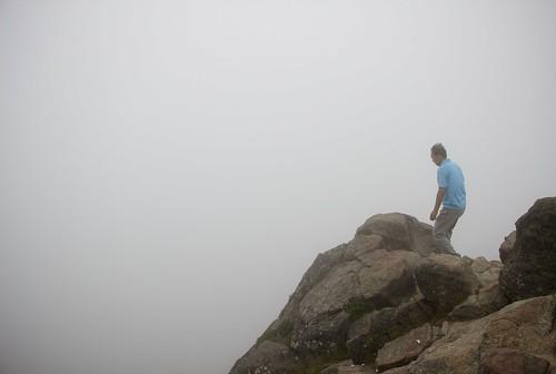tristeza montaña escalada cima corea vacío jirisan 지리산