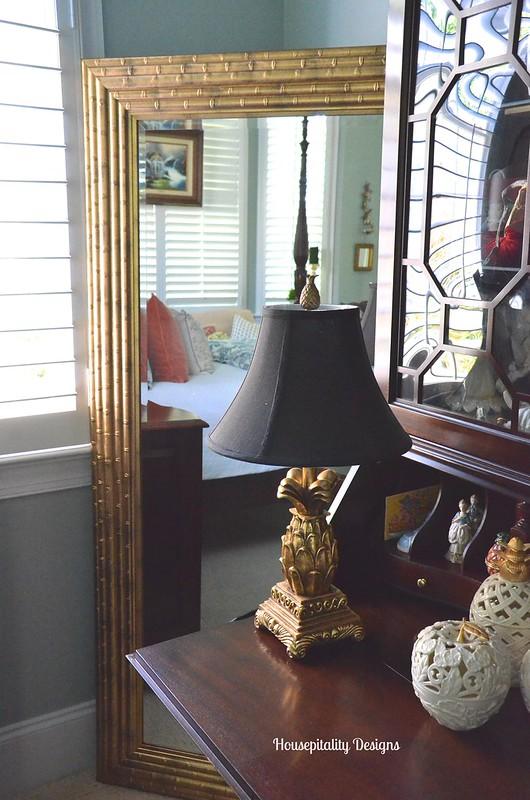 Master Bedroom Mirror - Housepitality Designs