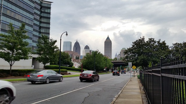 20150806_192731 2015-08-06 Spring Street classical tour Atlanta skyline view