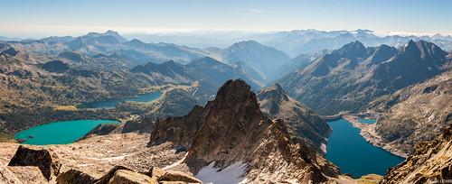 Vue du Pic de Néouvielle (3091m)