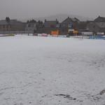 Christie Park under snow 15/1/2017