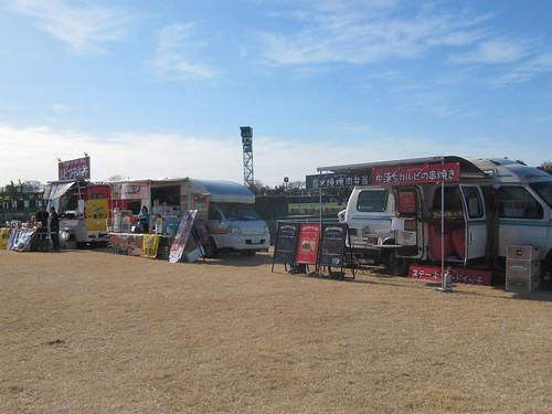 中山競馬場のキッチンカー