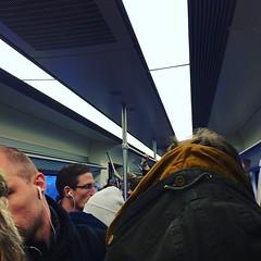 Volgens mij heb ik de enige trein die van Utrecht naar Amsterdam rijdt gevonden. #sardientjes #sprinter #treinleven