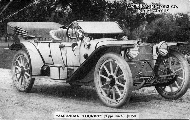 1913 American Tourist Type 34-A Touring Car